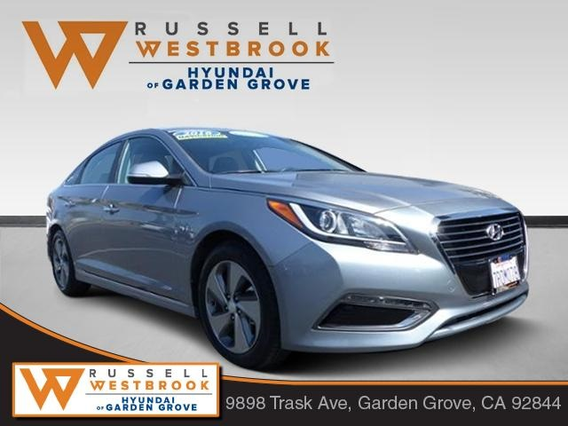 Certified Pre Owned 2016 Hyundai Sonata Plug In Hybrid Base